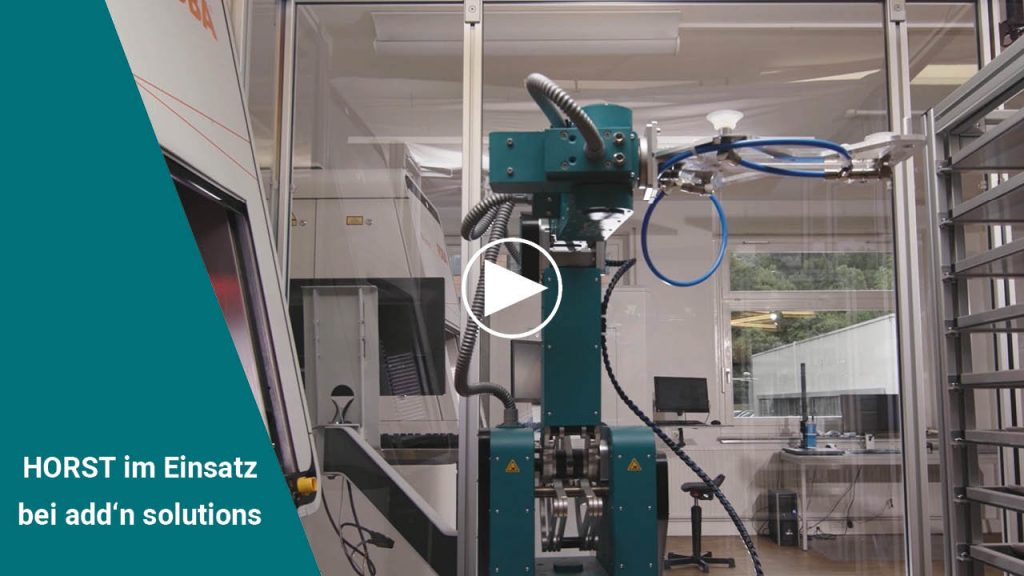 Industrieroboter HORST - add'n solutions - fruitcore robotics